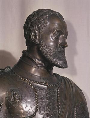 Primary view of Bust of Emperor Charles V