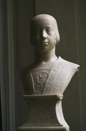 Primary view of Bust of Beatrice d'Este (1475-97)