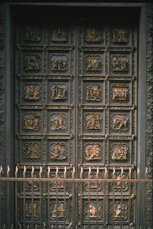 Primary view of Sculpture Panels on Bronze Doors of Baptistry, Florence