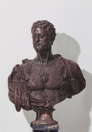 Primary view of object titled 'Bust of Cosimo I de'Medici'.