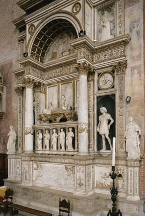 Primary view of Tomb of Doge Andrea Vendramin (d. 1478), designed before 1492