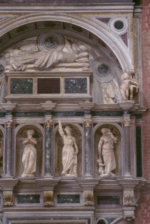 Primary view of Polychrome Monument to Senator Giambattista Bonzio (d. 1508)