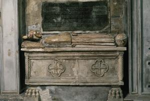 Primary view of Venetian Tomb of Doge Michele Steno (d. 1413)