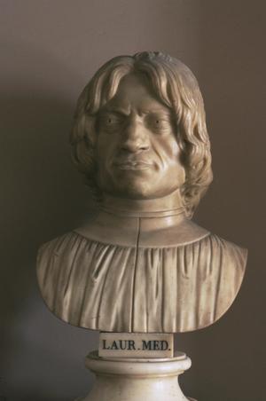 Primary view of Bust of Lorenzi il Magnifico de'Medici