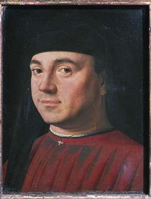 Primary view of Portrait of a Man in Red