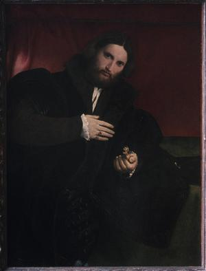Primary view of Man with a Golden Animal Paw