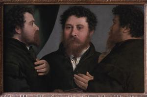 Primary view of Portrait of a Goldsmith in Three Views