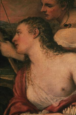 Primary view of Venus Blindfolding Cupid