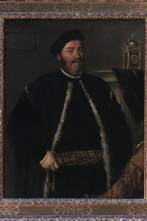 Primary view of object titled 'Portrait of Fabrizio Salvaresio'.