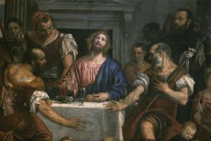 Primary view of object titled 'The Supper at Emmaus'.