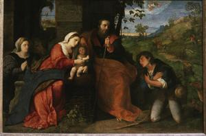 Primary view of object titled 'Adoration of the Shepherds'.