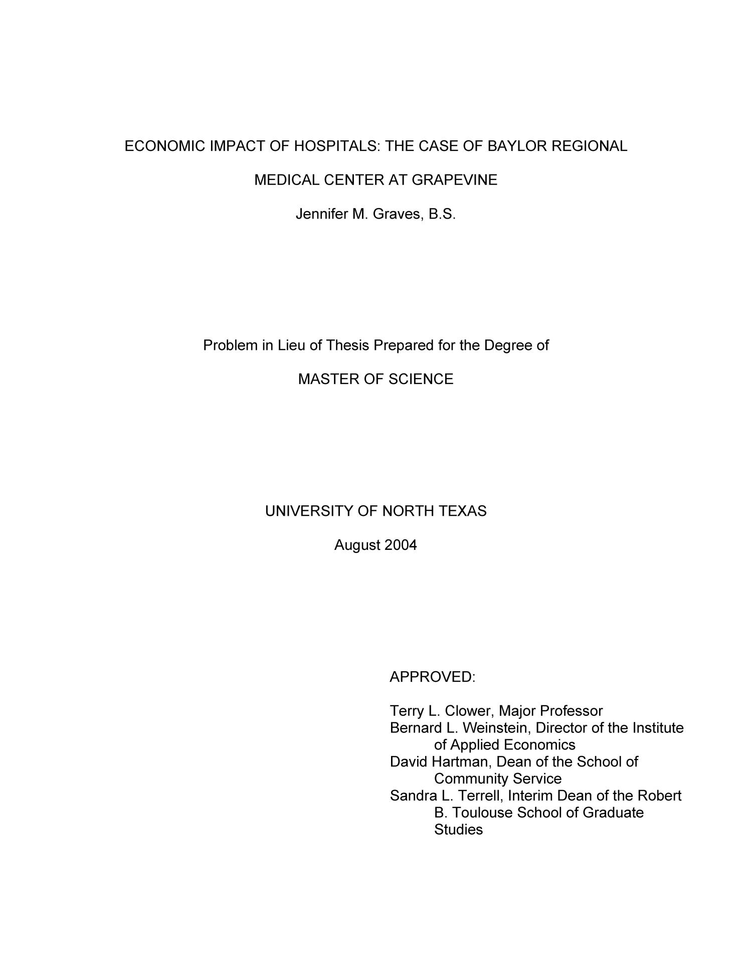 Financial development and economic growth thesis proposal Tufts University  Graduate Programs The Balance between Industry and aploon