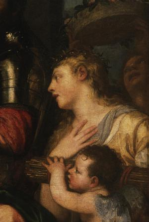Primary view of object titled 'Allegory of Alfonso d'Avalos'.