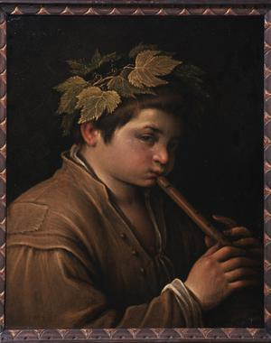Primary view of A Boy with a Flute