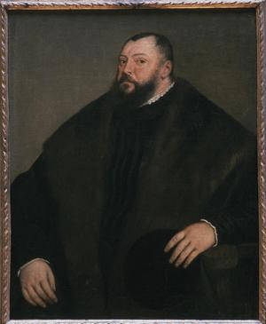 Primary view of object titled 'Portrait of Johann Friedrich of Saxony (1503-54)'.