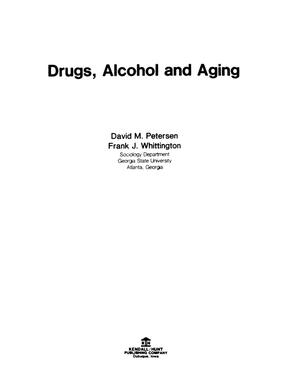 Primary view of object titled 'Use of Tranquilizers and Sleeping Pills Among Older Texans'.