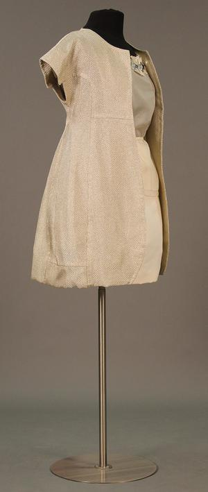Primary view of object titled 'Ensemble - Jacket, Blouse, and Skirt'.
