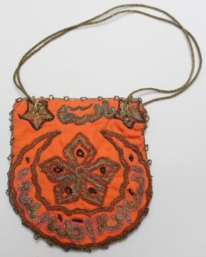 Primary view of object titled 'Pouch - Turkish Festival Outfit'.
