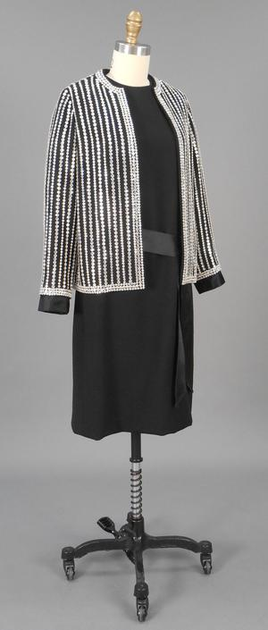 Primary view of object titled 'Evening Ensemble - Jacket and Dress'.