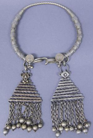 Primary view of object titled 'Necklace - Banjara Festival Attire'.