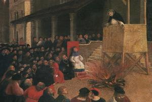 Primary view of The Sermon of St. Dominic in Recanti