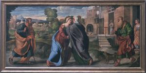 Primary view of object titled 'The Visitation'.