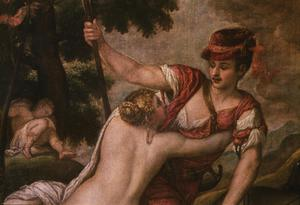 Primary view of object titled 'Venus and Adonis'.