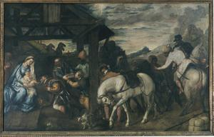 Primary view of object titled 'Adoration of the Magi'.
