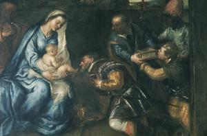 Primary view of Adoration of the Magi