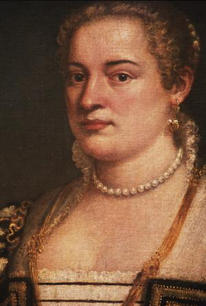Primary view of The Artist's Daughter Lavinia (?)