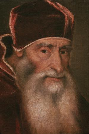 Primary view of Portrait of Pope Paul III Farnese (r.1534-49)