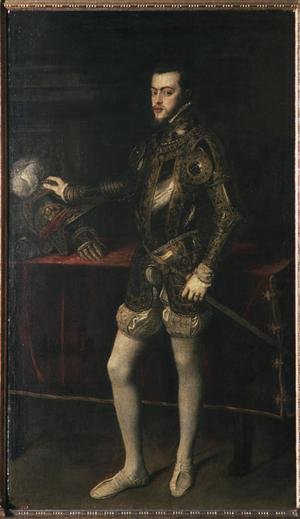 Primary view of King Philip II of Spain