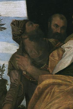 Primary view of object titled 'The Annointment of David'.