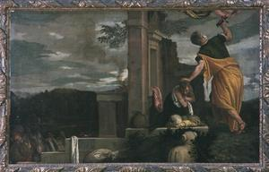 Primary view of object titled 'Abraham's Sacrifice of Isaac'.