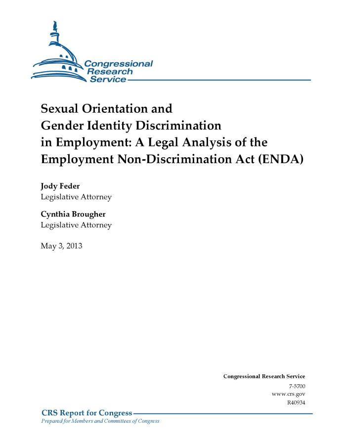 Sexual orientation discrimination definition wikipedia