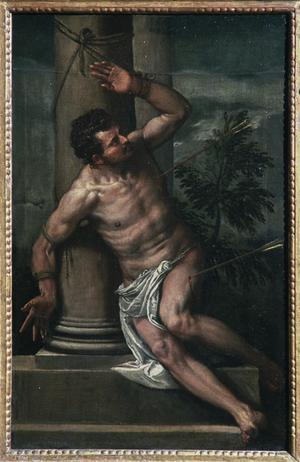 Primary view of St. Sebastian