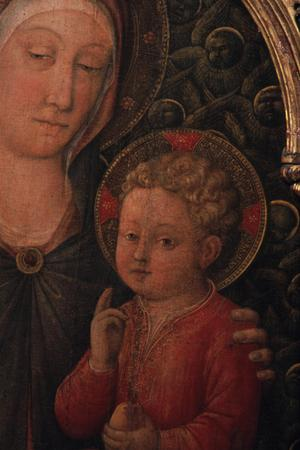 Primary view of object titled 'Madonna and Child'.