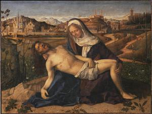 Primary view of object titled 'The Pieta'.