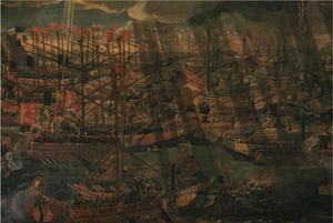 Primary view of object titled 'The Battle of Lepanto'.