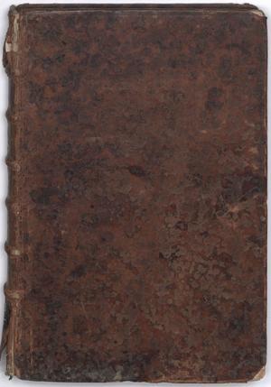 Primary view of Cantates françoises à I. et II. voix: avec simphonie, et sans simphonie, V. 1-2