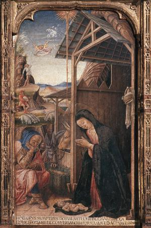 Primary view of Conversano Altar with Nativity