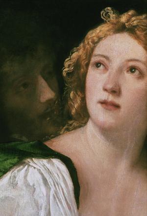 Primary view of Lucretia and Tarquinius