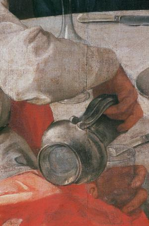 Primary view of Supper at Emmaus