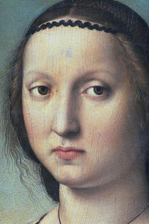 Primary view of object titled 'Portrait of Maddalena Doni'.