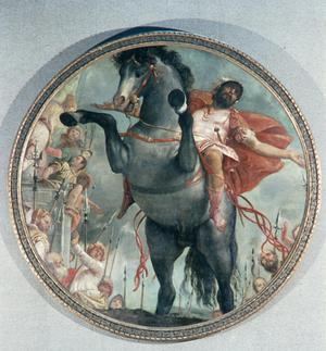 Primary view of object titled 'The Sacrifice of Marcus Curtius'.