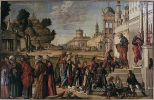 Primary view of object titled 'Ordination of St. Stephen'.