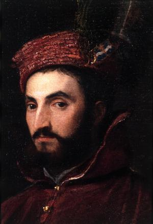Primary view of object titled 'Portrait of Cardinal Ippolito de'Medici'.