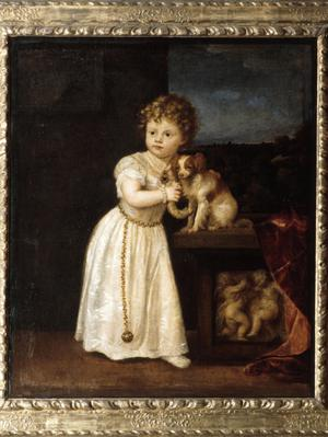 Primary view of Clarissa Strozzi at the Age of Two