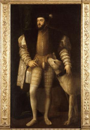 Primary view of Full-Length Portrait of Charles V