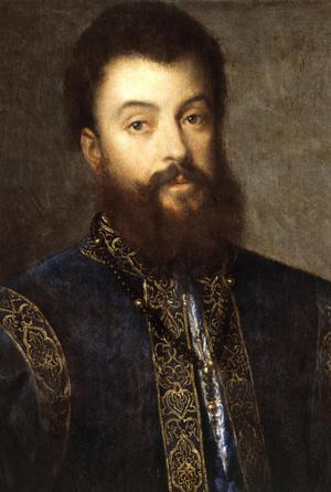 Primary view of Portrait of the Duke of Mantua with His Dog
